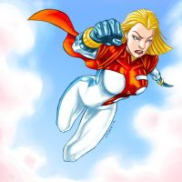 PowerGirl DC new 52 by dichiara