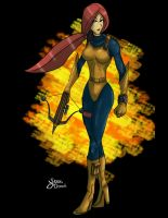G.I. Joe Jam Scarlett by Sean-Loco-ODonnell