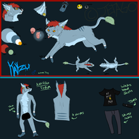 KAYZU Reference 2012 (My Fursona) by Jetago