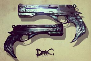 Two Handguns by FateDecider