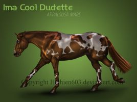 Ima Cool Dudette Reference by Hathien603