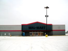Abandoned Wal-Mart by scott-451