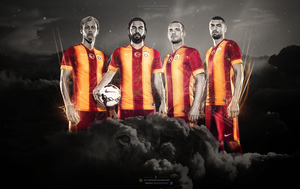 Galatasaray 2014-2015 wallpaper by brkydesign