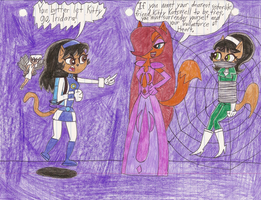 We've came to rescue Kitty Katswell from Tridara by Magic-Kristina-KW