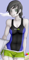 Wii Fit Trainer by nozomi-sama