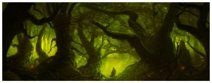 The Pagan's Forest by dominuself