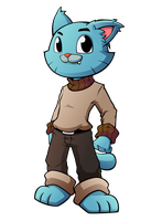 07 DA request Gumball from TAWoG by XaR623