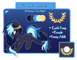Nova Constelle Reference Sheet by Picklesquidly