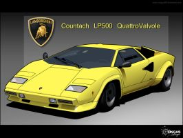 Countach LP500 by carguy88