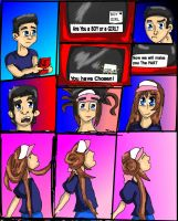 Are You a Boy Or a Girl? Rosa TG Commish. Part 1 by riderdahedgehog91