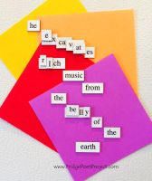 The Daily Magnet #169 by FridgePoetProject