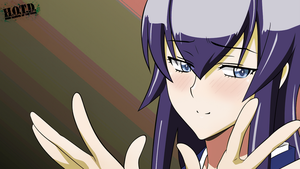 Saeko - Highschool of the Dead Wallpaper by 00L-Lawliet00