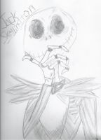 The Nightmare Before Christmas: Jack Skellington by Sartisian