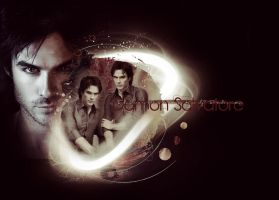 Damon Salvatore by TheMeltingSun