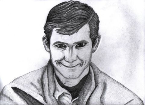 Psycho - Norman Bates by frostbitesback
