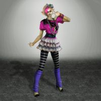 Lollipop Chainsaw Rosalind Boss Version by ArmachamCorp