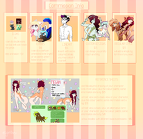 NEW COMMISSION INFO (open!) by magerine