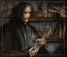 Snape potion by Belegilgalad