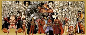 One Piece 691 Color Spread by StarDrummer