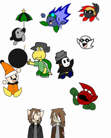 Beta Chaser character doodles by wambulenceman