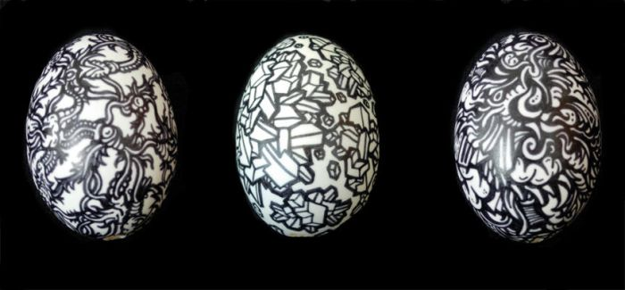 Illustrated Easter Eggs by mtomsky