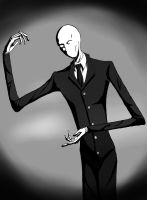 Slenderman by MapleKing