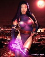 Psylocke by Silverfangs21