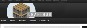 CraftHub Logo 1 by Kidbomber