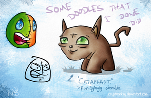 Doodles I Done Did Do by cryptmonkey