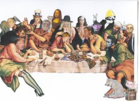 Last Supper _unfinished_ by RebelArtist23