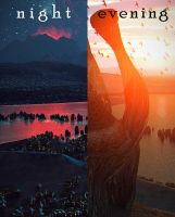 Telvanni tower. The night and the evening by Lelek1980