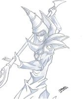 Dark Magician by Willel