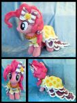 Grand Galloping Gala Pinkie Pie Plush :Commission: by AppleDew