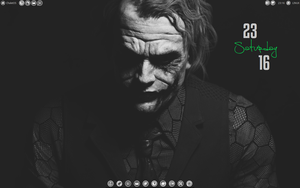 Joker Xfce Desktop. by speedracker