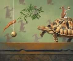 The Tortoise and the Hare det by LindaRHerzog