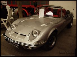 1971 Opel GT Cabriolet by compaan-art