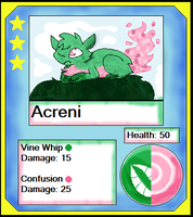 Acerni Card (Adopt) by Dianamond