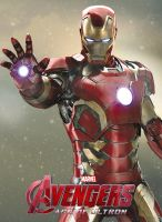Avengers Age of Ultron: Iron Man Poster by superjabba425