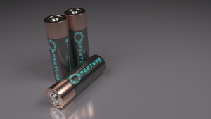 Aperture Science Batteries by chip11111