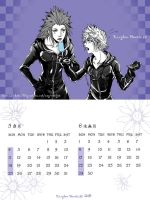 KHII monthly calendar3 by Akuhen