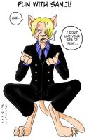 Fun with Sanji by Ssela
