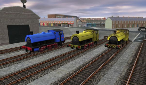 Corby Steelworks Loco Released by Old-Freddy