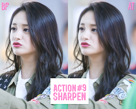 Action Sharpen #9 by BHottest