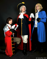 APH: kneel down to Prussia by Adurnah
