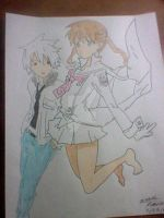 Spartoi Maka and Soul by SoulsBigtimerush