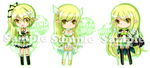 Elsword Key-ring Project: Rena all class by noirjung