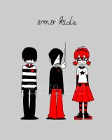 emo kids by porotto