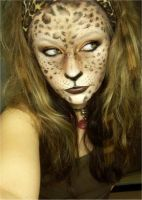 leopard woman by LePr0sY