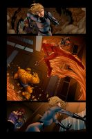 Fantastic Four Steve McNiven by SkylineGT