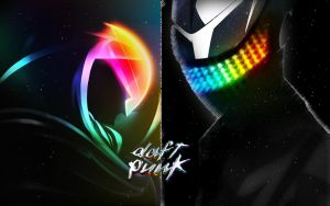 Daft Punk by Haru999
